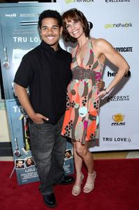 Bryan Erickson and Alexandra Paul at the premiere of