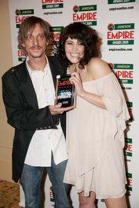 Mckenzie Crook and Gemma Arterton at the Jameson Empire Magazine Awards.