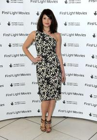 Gemma Arterton at the First Light Movie Awards.