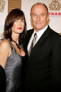 Amanda Pays and her husband Corbin Bernsen at the 14th Annual Britannia Awards.