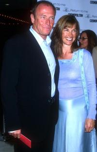 Amanda Pays and her husband Corbin Bernsen at the Los Angeles premiere of