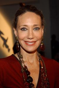 Marisa Berenson at the Donna Karan show during Olympus Fashion Week Spring 2005.