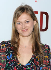 Marin Ireland at the Broadway opening of