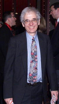 Austin Pendleton at the after-party for the opening of the Broadway play Thoroughly Modern Millie.