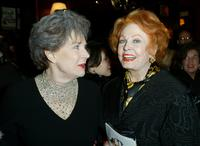 Polly Bergen and Arlene Dahl at the after-party for broadway comedy