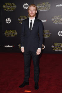 Domhnall Gleeson at the California premiere of