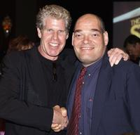 Ron Perlman and Irwin Keyes at the 30th Annual Saturn Awards.