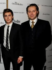 Zac Efron and Christian McKay at the screening of