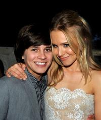 Billy Unger and Kristen Bell at the after party of the premiere
