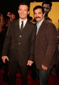 Jackson Walker and Jonathon Schaech at the premiere of