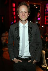 Christopher Redman at the after party of the world premiere of