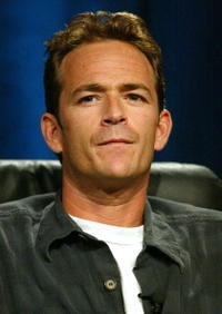 Luke Perry at the 2005 Television Critics Association Summer Press Tour.