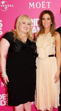 Rebel Wilson and Kristen Wiig at the