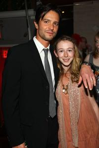 Jason Behr and India Ennenga at the after party of the premiere of