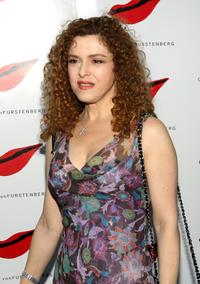 Bernadette Peters at the Diane Von Furstenberg Spring 2006 fashion show during Olympus Fashion Week.
