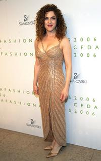 Bernadette Peters at the 2006 CFDA Awards ceremony.