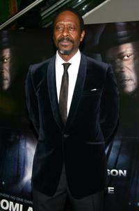 Clarke Peters at the New York premiere of