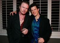Patrick Bergin and Eric Mabius at the C Magazine and Boucheron's celebration of the March issue of C Magazine's fashion portfolio.