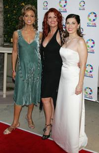 Valarie Pettiford, Kelli Provart and Valerie Perri at the weSPARKLE Take V