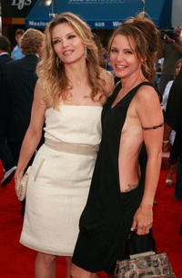 Michelle Pfeiffer and DeDee Pfeiffer at the Los Angeles premiere of