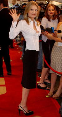 Michelle Pfeiffer at a screening of