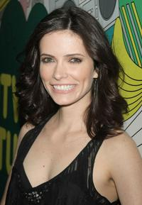 Bitsie Tulloch at the MTV's Total Request Live in New York City.