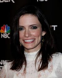 Bitsie Tulloch at the premiere of