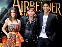 Nicola Peltz, Jackson Rathbone and Dev Patel at the photocall of