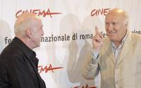 Michel Piccoli and Director Otar Iosselianiat at the Rome Film Festival photocall to promote