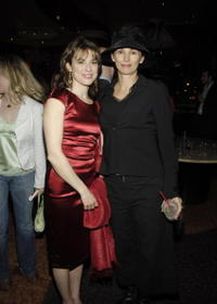 Rebecca Pidgeon and Michelle Joyner at the after party of the Los Angeles Premiere of Pulitzer prize-winning David Mamet's play