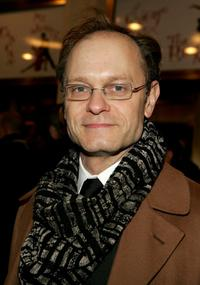 David Hyde Pierce at the play opening night of