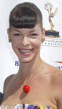 Pollyanna McIntosh at the 5th Annual Primetime Emmy Nominees' BAFTA Tea Party in California.