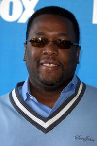 Wendell Pierce at the celebrity golf challenge to honor the nominees of the 39th Annual NAACP Image Awards.