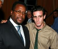 Wendell Pierce and James Ransone at the after party of the premiere of