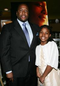 Wendell Pierce and Rayelle Parker at the screening of