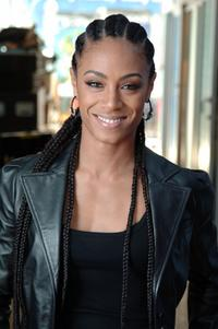 Jada Pinkett Smith at the MTV studios for a taping of MTV 2 Presents Headbangers Ball.