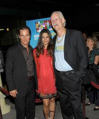 Matthew McConaughey, Camila Alves and Turk Pipkin at the Nobelity Project's