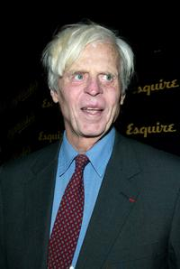 George Plimpton at Esquire Magazine's 70th Anniversary.