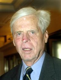 George Plimpton at the 2002 National Magazine Awards.