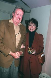 Suzanne Pleshette and Tom Poston at the Cabaret opening of Neile Adams.