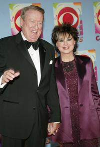 Suzanne Pleshette and Tom Poston at the television gala