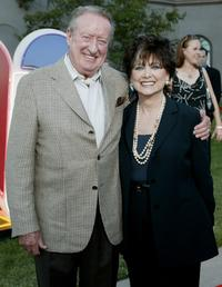 Suzanne Pleshette and Tom Poston at the NBC Press Tour Party.
