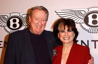 Suzanne Pleshette and Tom Poston at the exhibition launch party