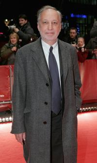 Francois Berleand at the premiere of