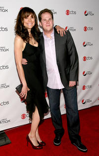 Liz Vassey and David Berman at the CBS New Season Celebration.