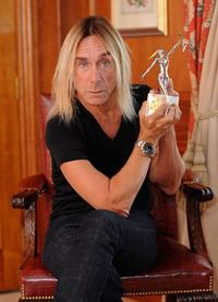 Iggy Pop at the 2009 Marshall Classic Rock Magazine Roll of Honour.