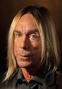 Iggy Pop at the Classic Rock Roll Of Honour Awards.