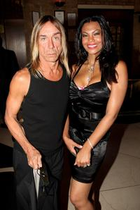 Iggy Pop and his guest at the Mojo Honours List Awards Ceremony.