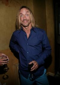 Iggy Pop at the Premiere Magazine party during the 2003 Toronto International Film Festival.