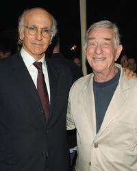 Larry David and Shelley Berman at the after party of the Los Angeles premiere of